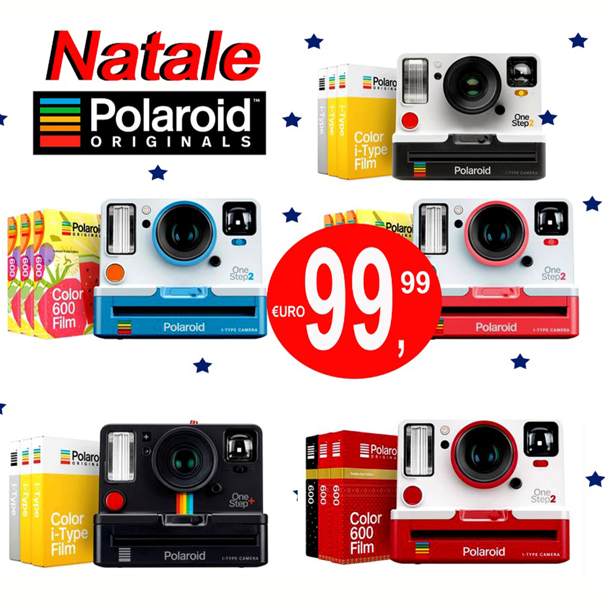 CALABRESE FOTOTTICA GROUP INFORMA : IDEA REGALO NATALE 2019 POLAROID ONE STEP 2 VIEWFINDER