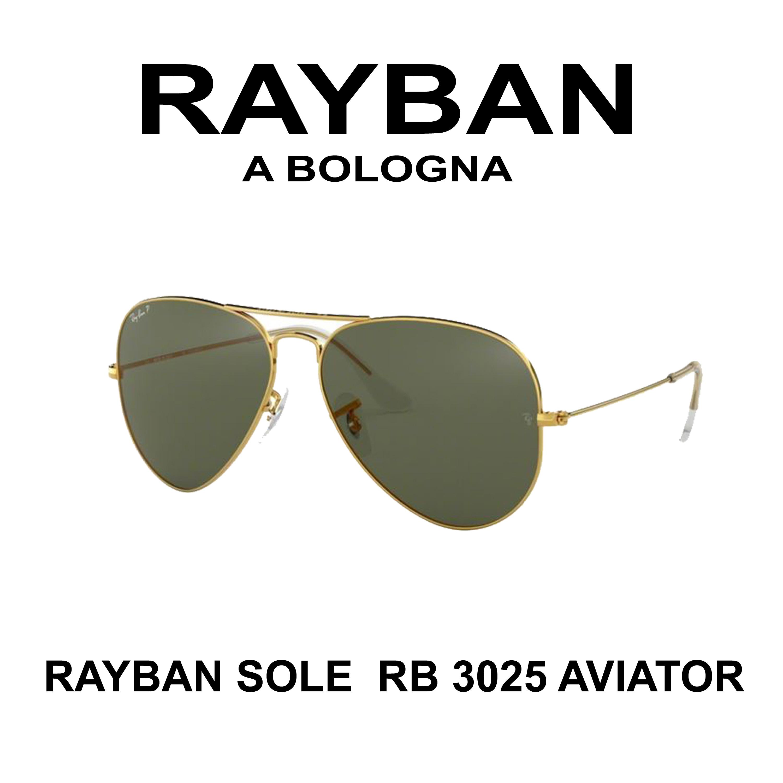 OCCHIALE DA SOLE RAYBAN  RB 3025 AVIATOR A BOLOGNA E SAN LAZZARO DI SAVENA