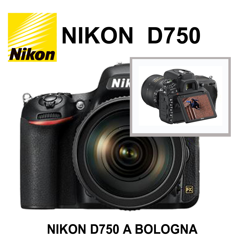 NIKON D750 FOTOCAMERA DIGITALE REFLEX FX FULL FRAME  A BOLOGNA