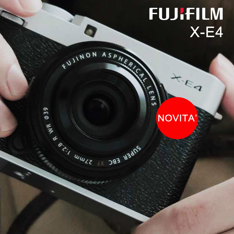 FUJI X-E4 FOTOCAMERA DIGITALE MIRRORLESS A BOLOGNA E SAN LAZZARO DI SAVENA