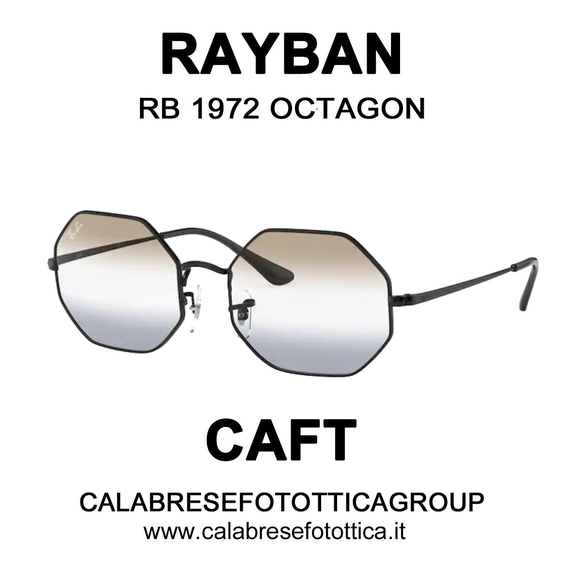 RAYBAN SOLE RB 1972 OCTAGON DA CAFT CALABRESE FOTOTTICA GROUP VIA EMILIA 68/72 SAN LAZZARO DI SAVENA
